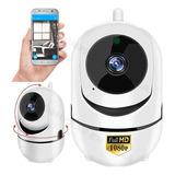 Camara Ip Autoseguimiento 360 M Espia Wifi Hd 1080p Seguridad Vigilancia Sensor Vision Nocturna Nube