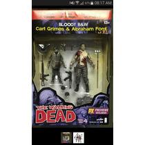 Walking Dead Carl Y Abraham Pack Serie Comic 4