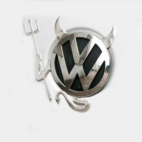 Sticker 3d Devil Mazda, Volkswagen, Bmw, Toyota, Hyundai Foto 2