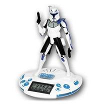 Star Warsradio Despertador Clon Capitan Rex Rosquillo Toys