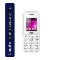 Celular Aoc Essencial A17 Blanco M06f420pp4064 2 T. Sim