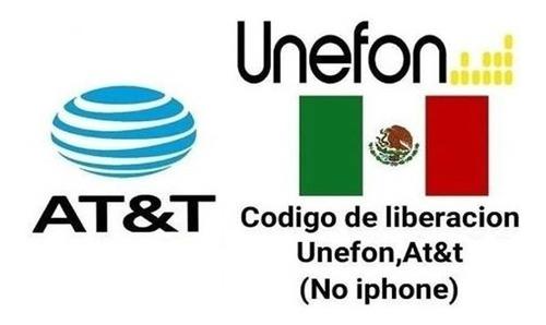 Codigo De Liberacion At&t Unefon Mexico Servicio Express
