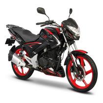 Moto Italika Ft 250 Ts Negro / Rojo