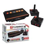 Consola Atari Flashback 4 Retro,  Con 75 Juegos Incluidos.