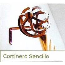 Cortineros Metálicos Extendibles Sencillo 1.00m Hasta 1.80m