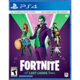 ..:: Fortnite Dc The Last Laugh Bundle ::.. Ps4 Game Center