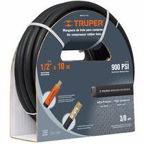 Manguera Compresor 1/2 Plg X 15 M Alta Presion Truper 17086