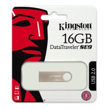Kingston Memoria Usb 2.0 Dtse9 16gb Metal Mayoreo Original +