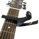 Prima Folk Quick Change Acoustic Electric Guitar Banjo Capo