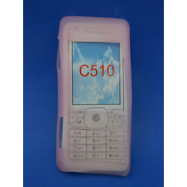 Silicon Skin Case Para Sony Ericsson C510 Color Rosa
