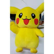 Pikachú Pokemon Peluche Original Marca Tomy