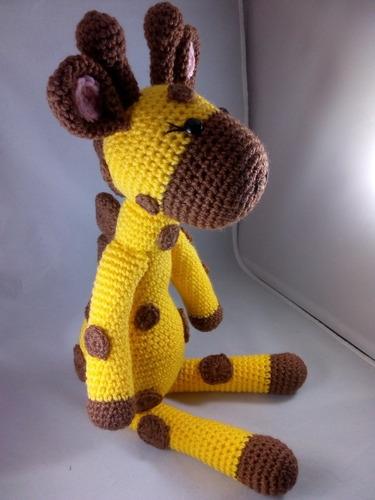 jirafa tejida crochet - amigurumis | Jirafas y Tejidos | 500x375