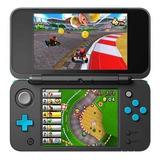 Nintendo New 2ds Xl Mario Kart 7 Bundle Negro Y Turquesa