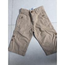 Pantalon De Lino Baby Gap 12-18 Meses