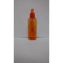 Botella Envase Pet 150 Ml Atomizador Color Anaranjado
