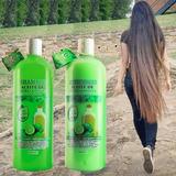 Shampoo Y Acondicionador De Bergamota Orgánico,  Anticaída, Anticaspa Y Crecimiento Capilar. Ayuda En Alopecia Es Unisex