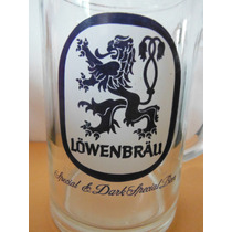 Tarro Cerveza Lowenbrau Alemania Europa Beer Souvenir Leon
