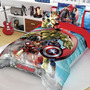 Set Edredon Individual Avengers Hd + Funda Decorativa