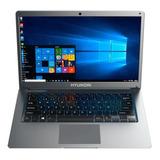 Laptop Hyundai Intel Dual Core 4gb 1tb +64gb 14 W10 Nueva