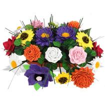 Mini Paquetes Moldes Para Hacer Flores De Foamy Envío Gratis