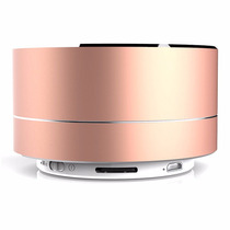 Bocina Bluetooth Mate Metálica Con Radio Excelente Sonido