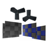 Kit Acustico 6 Esquineros+ 2 Cubos+ 24 Paneles Gruesos 30x30cm Envio Gratis