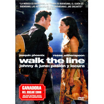 Dvd Johnny & June: Pasion Y Locura ( Walk The Line ) 2005 -