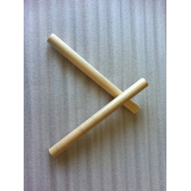 Clave Musical Madera Dura 25cm X 2.5cm