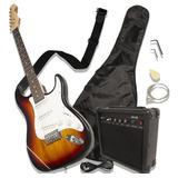 Guitarra Eléctrica Tipo Stratocaster Amplificador Accesorios