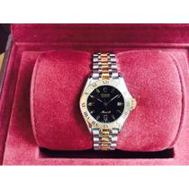 Rolex Tudor Monarch Ladies, Quartz Zafiro Impecable, Wow *