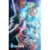 Paquete De Posters De Videojuegos, Halo, Gears Of War