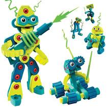 Robots Armables Juguetes Para Niños Foamy Bloco Importado