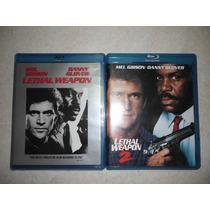 Set Arma Mortal Parte 1 (nueva) Y 2 (seminueva) En Blu-ray!