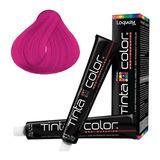 Tinte Fantasia Rosa Azul Violeta Turquesa Sin Amoniaco 2 Pza