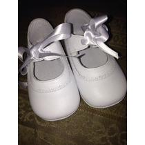 Zapatos Para Bebe Talla10cm,de Piel Hechos En España