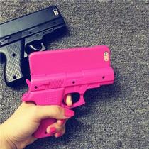 Funda Pistola Iphone 4, 5 Y 6. Gun Iphone Case Promo Navidad