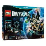 Lego Dimensions Starter Pack Edition Wii U Envio Gratis