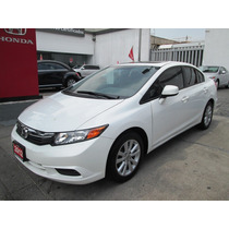Honda Civic Exl 2012 Blanco