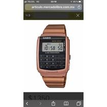 8f482aea1f27 Reloj Casio Ca506 Calculadora 8dig Dorado   Negro Wr Vintage en venta en  Juárez Cuauhtémoc Distrito Federal por sólo   1199