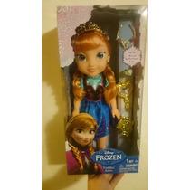 Frozen Princesa Anna Edicion Especial 30 Cms Importada