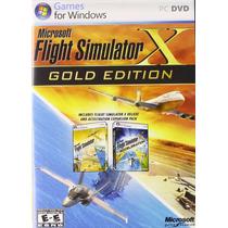 Microsoft Simulador De Vuelo X: Edición De Oro - Envíogratis