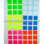 Z Stickers Cubo Rubik 3x3 Fosforecentes Full Bright