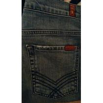 Seven For All Mankind Jeans Para Caballero Slim 31x32. True.