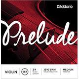 Cuerdas Violín Daddario Prelude  3/4 J-810 3/4m Envio Inmed+