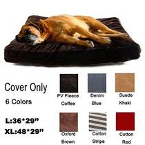 Cama Para Perro 4 Cojín Mascotas Perro Diy Cubierta Mat Cas