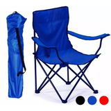 Silla Plegable Para Playa Alberca Camping Outdoors Azul