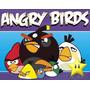 Kit Imprimible Angry Birds, Invitaciones Y Cajitas
