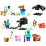 Set Sw4 Minecraft Steve Zombie Pig Cow Compatible Con Lego