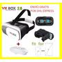 Lentes Realidad Virtual Vr Box 2.0 +control + Envío Gratis