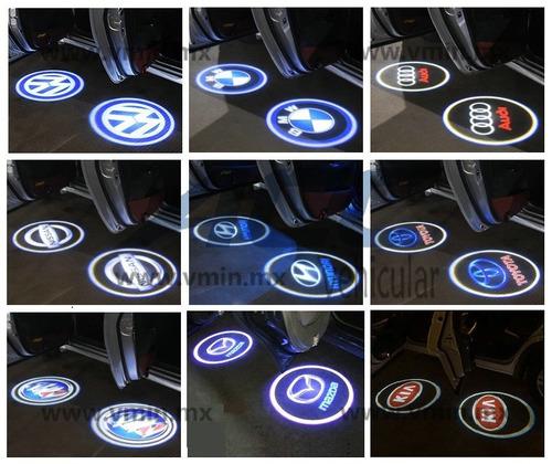 Luz De Cortesía Puerta Proyector Led Logo Inalámbrico - Par Foto 4